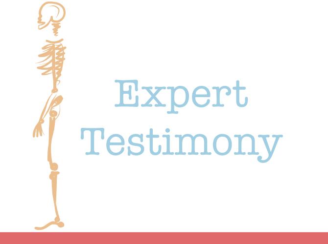 Medical Expert Testimony